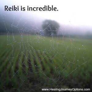 Reiki is incredible.