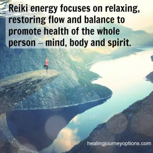 Reiki energy focuses on relaxing and restoring flow & balance.
