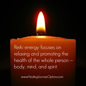 Reiki promotes the health of the whole person.