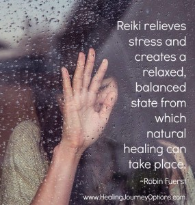 Reiki relieves stress