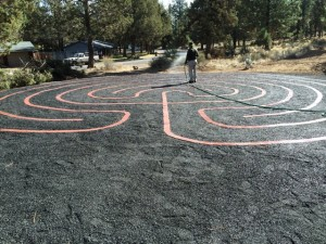 First Presbyterian Labyrinth, Bend, OR