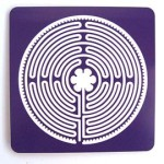 Purple Chartres 11-circuit labyrinth
