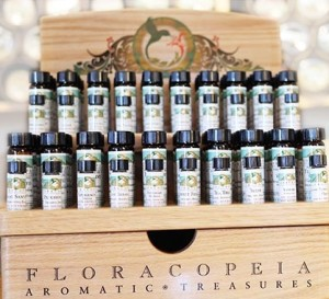 Floracopeia oil display